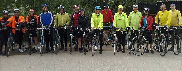 You are invited on a friendly ride into deepest Surrey, Sussex or Kent.  Starting in Purley we ride at conversational pace for between 30 & 50 miles.