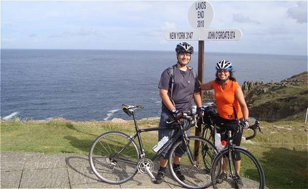 Land's End Signpost