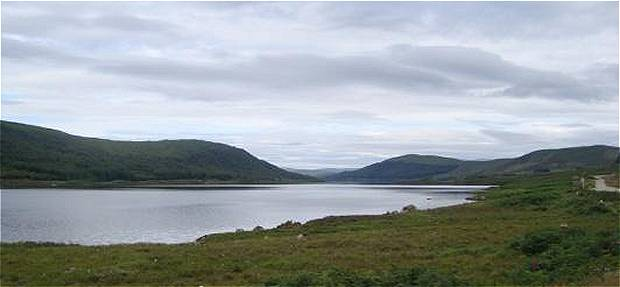 View across the loch