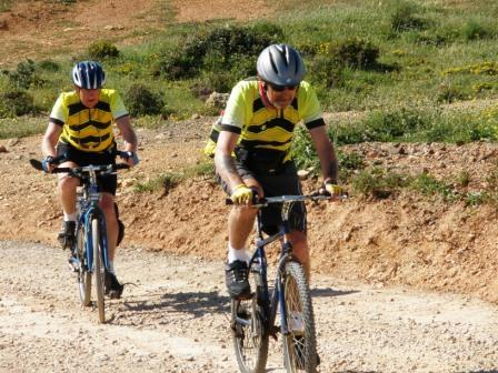 Cycling off road in Portugal