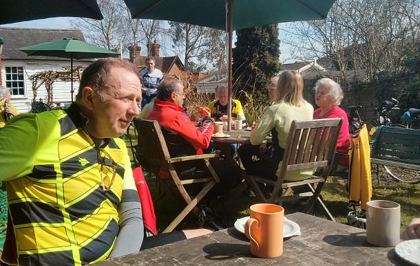 Shoreham Tea Stop