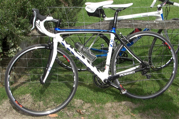 Tom's Mekk carbon bike