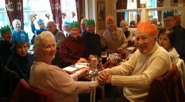 Anerley Christmas Lunch 2013