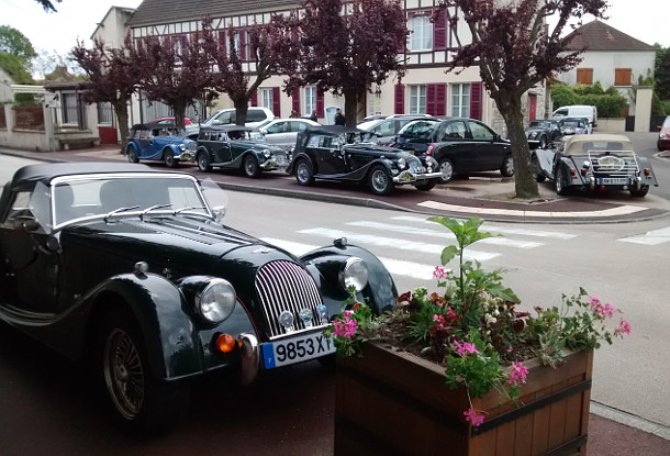 Morgan Cars, Gasny, France