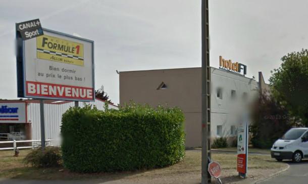 Hotel Formule1, Vernon, France