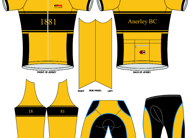 Anerley Cycling Kit