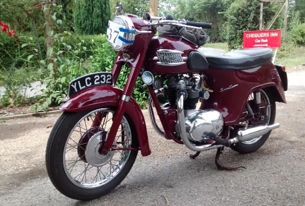 Triumph Twin Sport