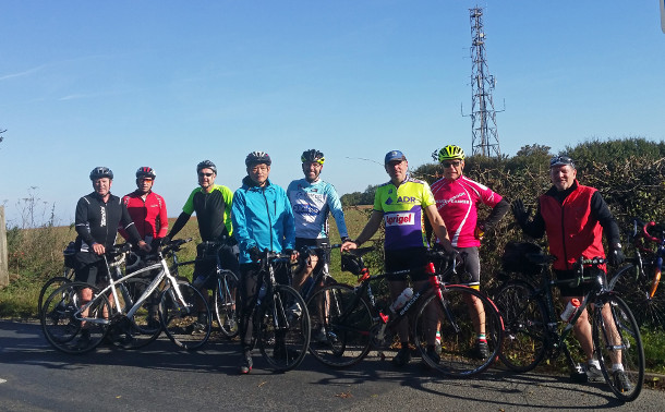 Anerley BC on top of Bolney