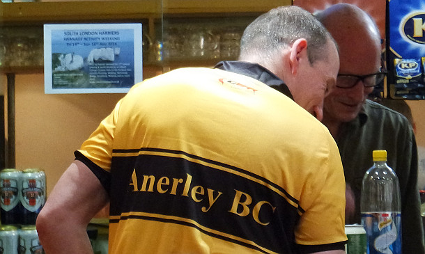 The new Anerley BC jersey