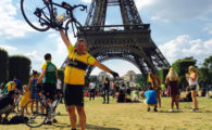 355 miles over 4 very hot and hilly days