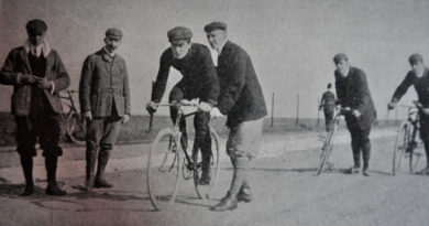 The life of an Edwardian racing cyclist: G.A.Olley